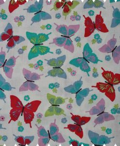 Colourful-Butterflies-Aqua-Cotton