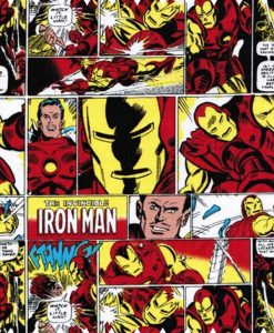 Marvel-Comics-Ironman-Red-Cotton