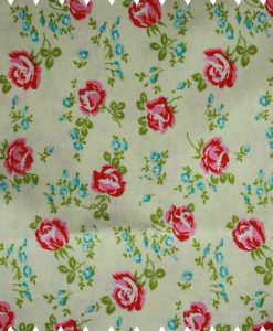 Roses on Ivory Cotton