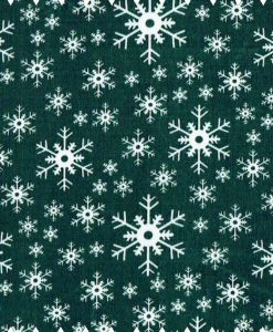 Green Snowflakes 1