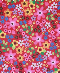 Flowers-on-Bright-Pink-Cotton