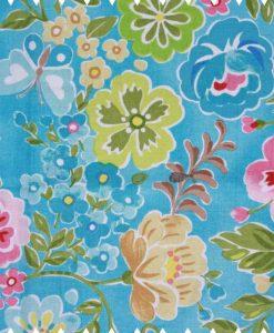 Flowers-on-Sky-Blue-Cotton