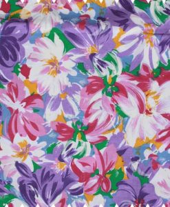 Pink-and-Purple-Flowers-Cotton