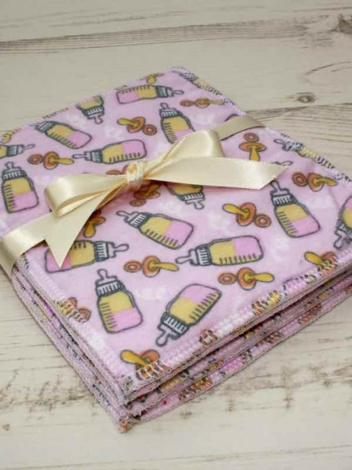 Pink bottles – 6 pack Baby Wipes