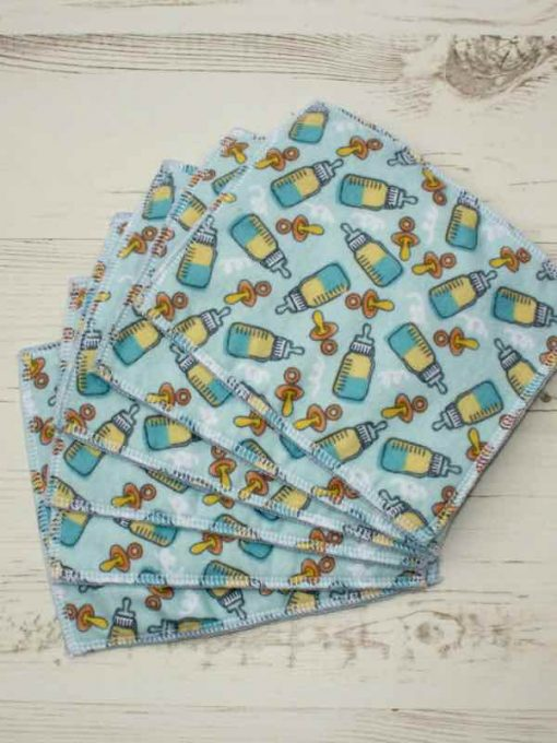 Blue bottles – 6 pack Baby Wipes 2