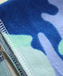 Blue Camo - Family cloth - Set of 9 | Luna Landings