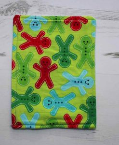 Christmas Bright Gingerbreadmen Baby wipe 1