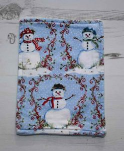Christmas Snowman Baby wipe