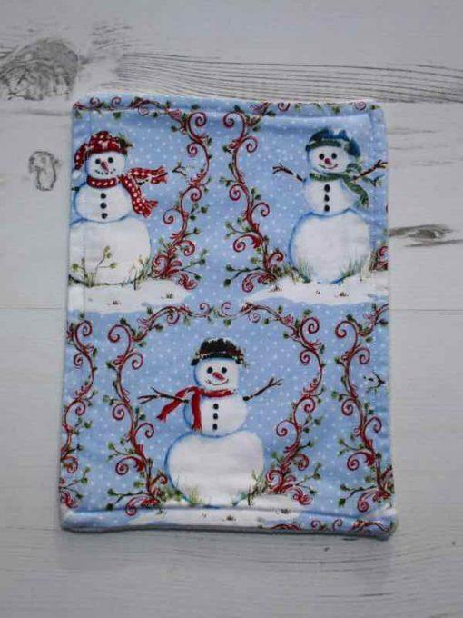 Christmas Snowman Baby wipe