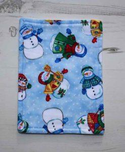 Christmas Snowmen Baby wipe 1