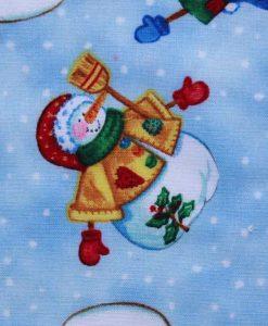 Christmas Snowmen Baby wipe