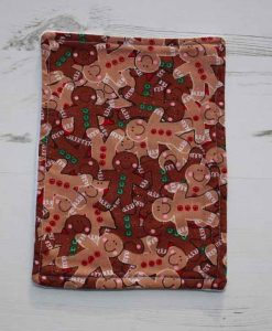 Christmas Gingerbreadmen Baby wipe