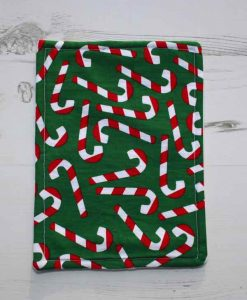 Christmas Candy Canes Baby wipe 1