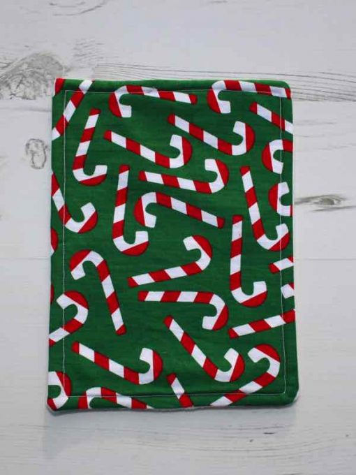 Christmas Candy Canes Baby wipe