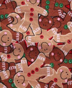 Christmas Gingerbread Men Baby wipe