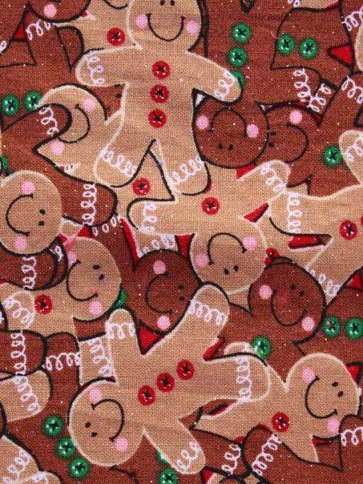 Christmas Gingerbread Men Baby wipe