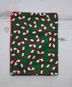Christmas Candy Cane Baby wipe 1