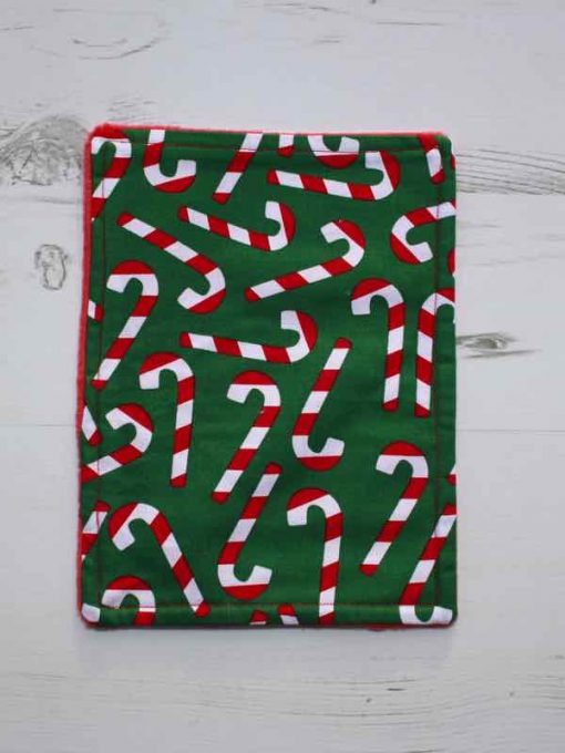 Christmas Candy Cane Baby wipe