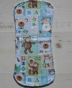 Baby Bear Burp Cloth