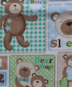 Baby Bear Burp Cloth 2