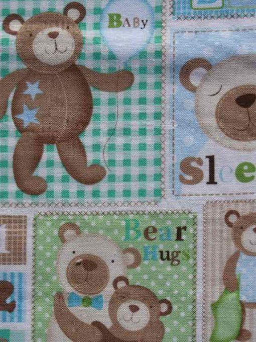Baby Bear Burp Cloth