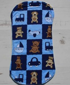 Boys Toys Burp Cloth 1