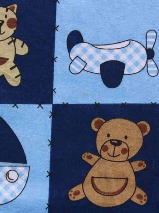 Boys Toys Burp Cloth