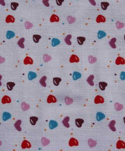 Love Hearts Burp Cloth 2