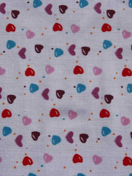 Love Hearts Burp Cloth