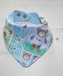 Baby Bear Cotton Dribble Bib 1