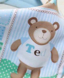 Baby Bear Cotton Dribble Bib 2