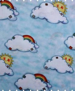 Rainbow Clouds Cotton