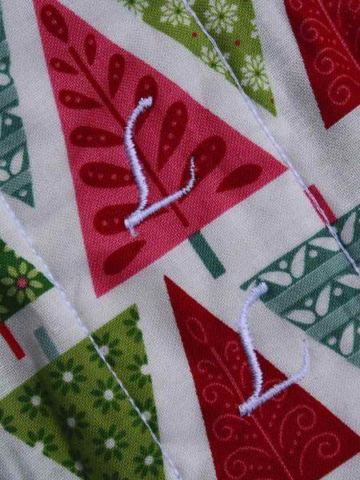 Graphic Christmas Trees 11″ Sub – Liner cloth pad 2