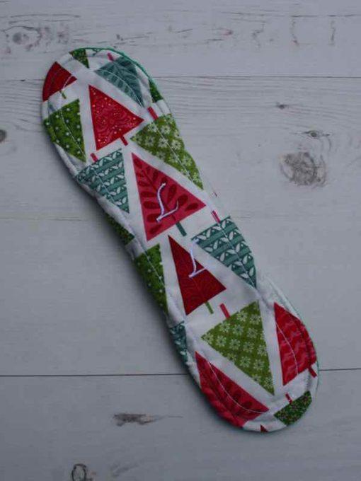 Graphic Christmas Trees 11″ Sub – Liner cloth pad 4