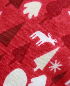 Graphic Christmas Trees Red – Reusable sponge