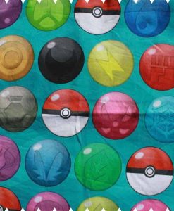Pokeball Stash Cotton Jersey