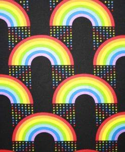 Rainbow Stars Black 1