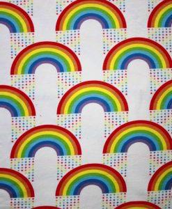 Rainbow Stars White 1