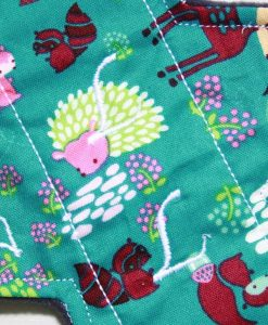 11-inch-Light-Flow-cloth-menstrual-pad-Woodland-Pals-Cotton-and-Wind-Pro-fleece_2