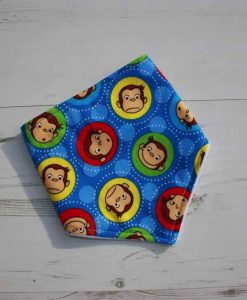 Curious George Cotton Dribble Bib 2