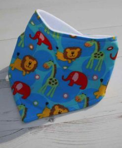 Safari Friends Dribble Bib 1
