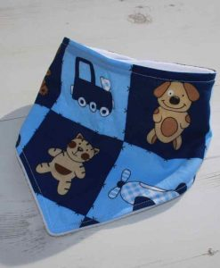 Boys Toys Dribble Bib 1