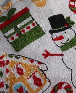 Snowman – Reusable sponge 2