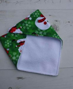 Snowman and Santa Dribble Bib 3
