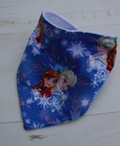 Anna and Elsa Dribble Bib 1