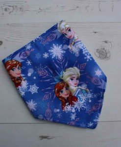 Anna and Elsa Dribble Bib 2