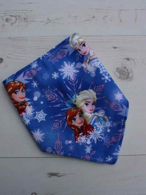 Anna and Elsa Dribble Bib