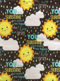 You Are My Sunshine Cotton Jersey