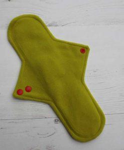 "12"" Sub Regular Flow cloth pad | Rainbow Unicorns Cotton | Celery Wind Pro Fleece"