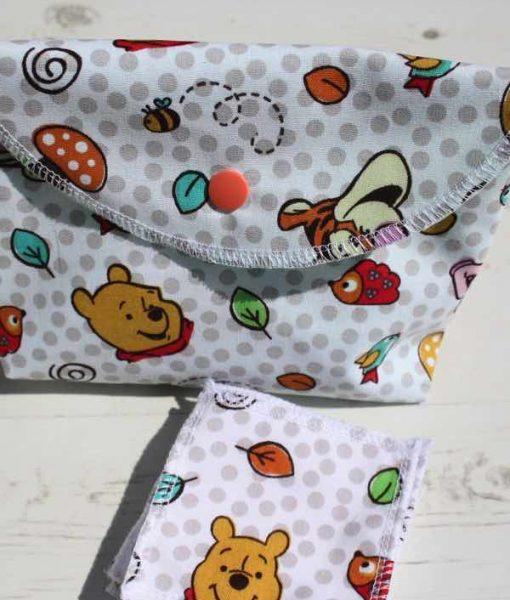 Pooh Bear Make Up Bag and Wipes